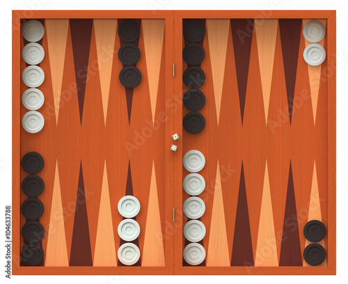 Fototapeta Backgammon