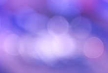 Abstract Violet Background With Circles