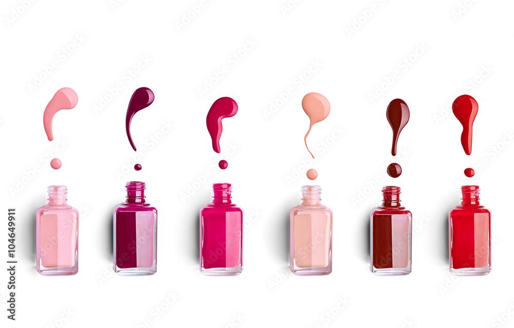 Fototapeta nail polish finger make up beauty cosmetic
