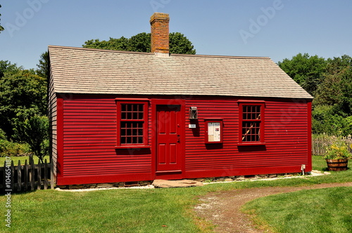 Photo  Middletown, Rhode Island - July 16, 2015:  1715 Hicks House, orignally the Brist