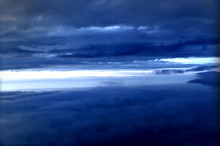 Sky Background With Clouds And...