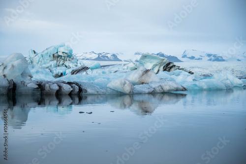 Foto op Plexiglas Arctica Jokulsarlon glacier lagoon in Iceland