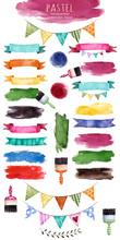 Watercolor Multicolored Collec...