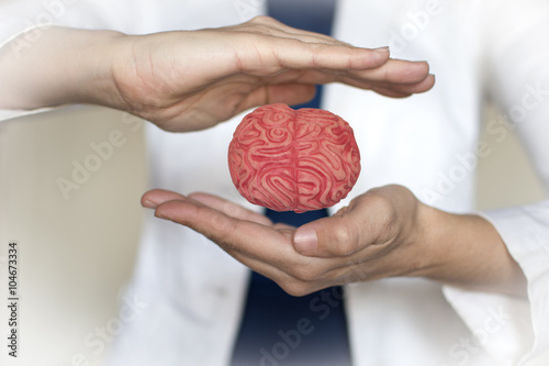 Fotografie, Obraz  cerebro neuromanagement en la empresa