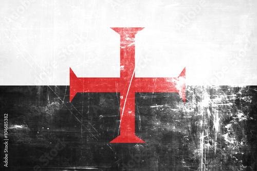 Photo  Templar knight flag