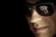 Poker Player In Online Casino