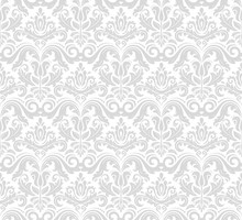 Damask Seamless Ornament. Trad...