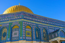 Decor Of The Dome Of The Rock