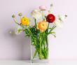 canvas print picture - spring bouquet