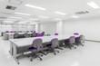 空き事務所 Desk and chair space office