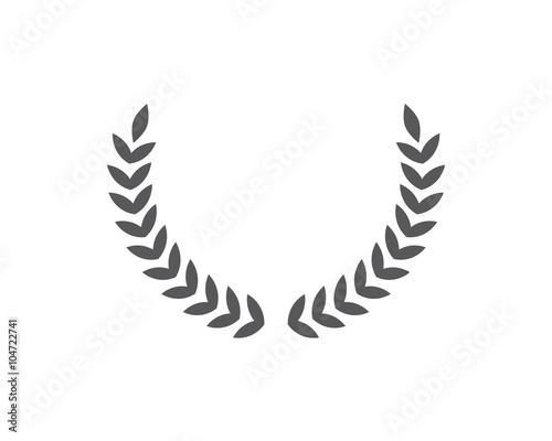 Fotografie, Tablou  Wreath Logo