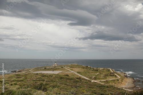 Foto  Faro en la costa