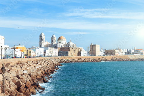 Cathedral View in Cadiz Spain