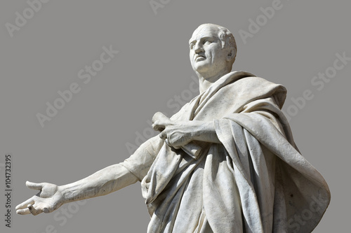 Photo Cicero, the greatest orator of Ancient Rome