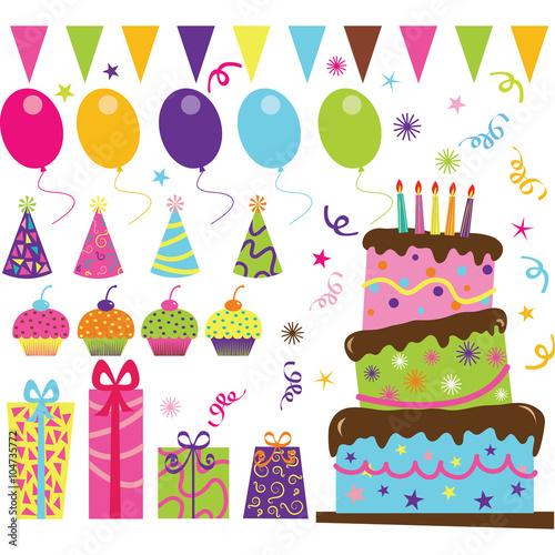 Photo  Birthday Party Set