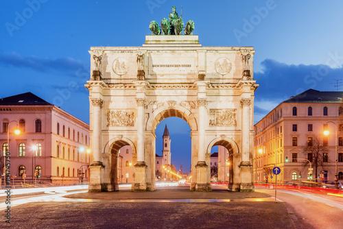 Obraz na płótnie Munich Victory Gate