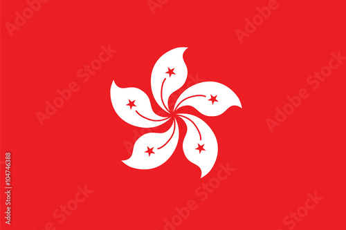 Photo  Standard Proportions for Hong Kong Official Flag