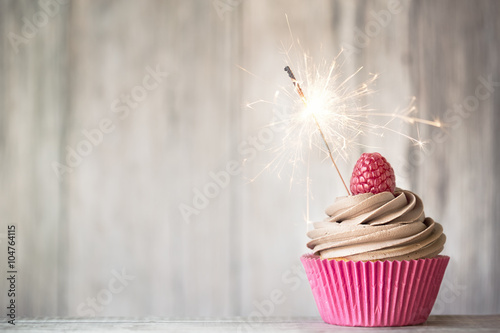 Celebration cupcake Wallpaper Mural