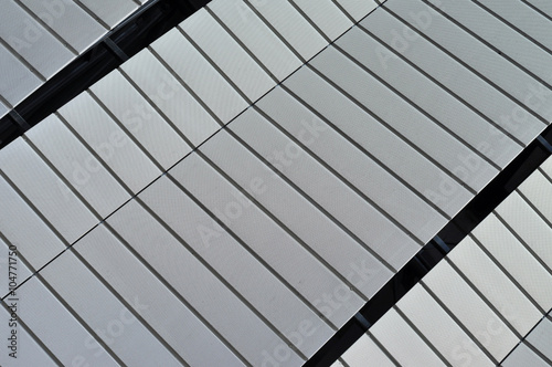 Poster Stadion Modern architecture pattern of a stadium