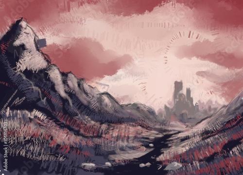 Canvas Print Пейзаж 2