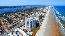 Daytona Beach, Florida. Beautiful Aerial View