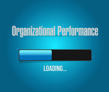 Organizational Performance Loading Bar Sign