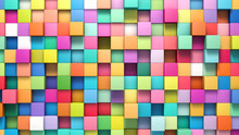 Abstract Background Of Multi-c...