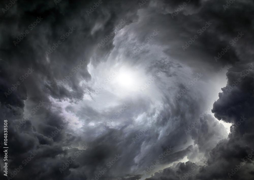 Fototapeta Whirlwind in the Clouds