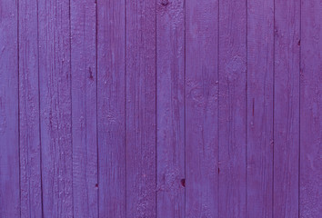 Violet blue old fence texture.
