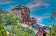 Abandoned Old Copper Mine In  McCarthy In Alaska -1