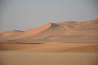 Beautiful sand dunes in Oman