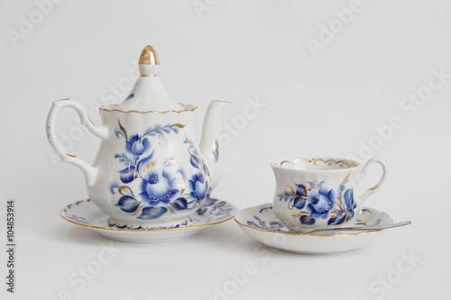 Fotografie, Obraz  чайный сервиз