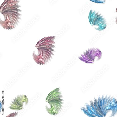 bezszwowe-kolorowe-fraktali-ksztaltow-wzor-na-bialym-tle