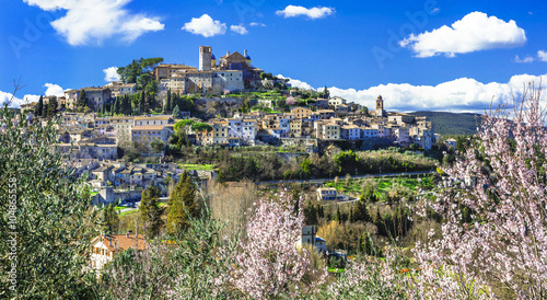Amelia - beautiful village in Umbria, Italy Wallpaper Mural