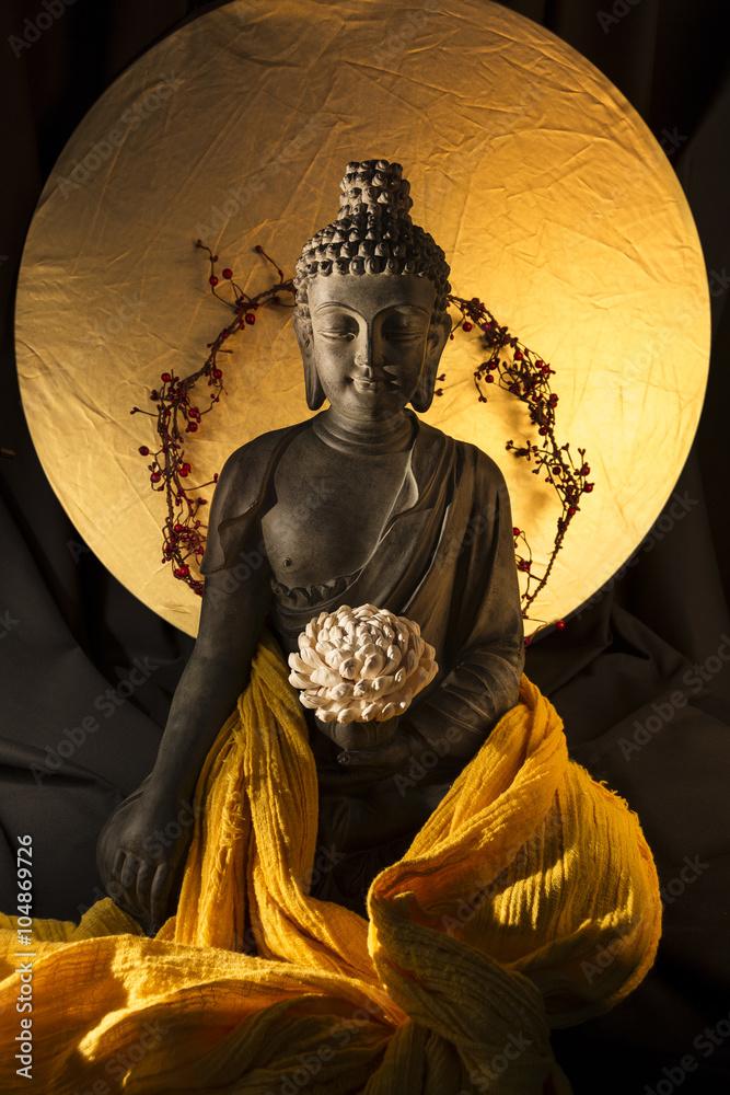 Fotografie, Obraz  Socha de bouddha