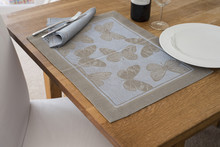 Rectangular Placemat With Embr...