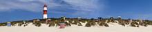 Panorama Am Strand Borkum