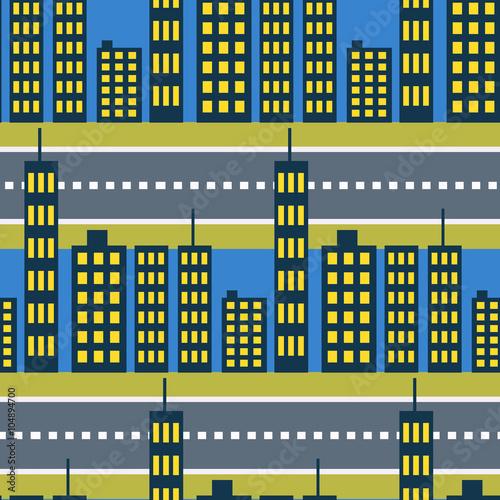 miasto-wiezowce-i-ulice-drogi-wzor-megalopolis-okolica-domy-noc-tlo