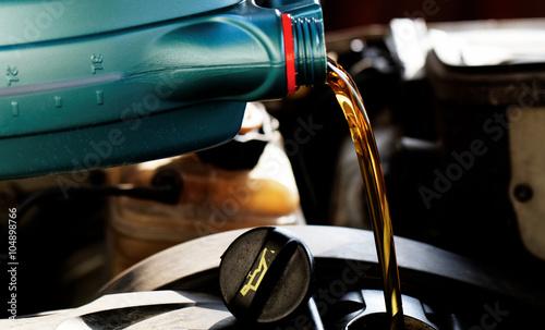 Fototapeta Fresh motor oil obraz