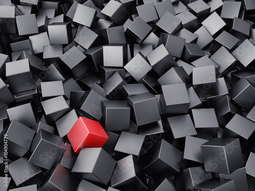 Background from cubes © fotovika