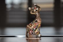Ceramic Mexican Cat Decoration.