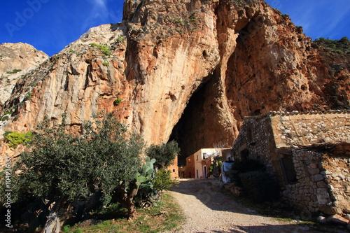 Fotografie, Obraz  grotta mangiapane trapani sicilia