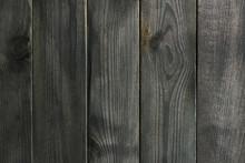 Dark Black Wooden Background