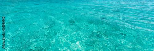 Poster Zee / Oceaan Blue sea water