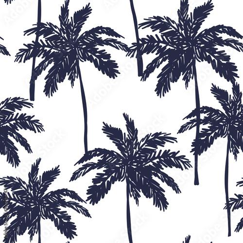 sylwetki-drzew-palmowych-na-bialym-tle