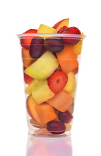 Cup Of Fresh Cut Fruit