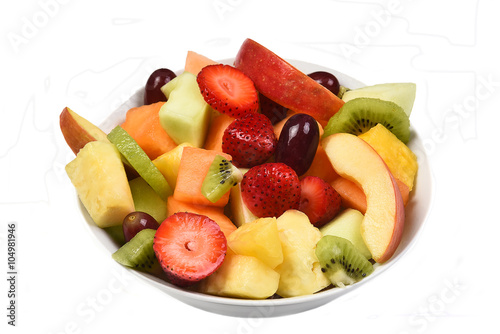 Keuken foto achterwand Vruchten Fresh Fruit Bowl