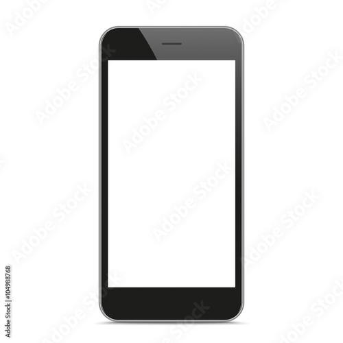 Foto  Schwarzes Smartphone-Modell