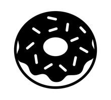 Donut / Doughnut With Chocolat...