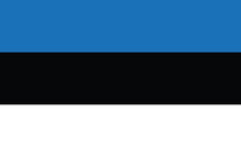 Estonian Flag.